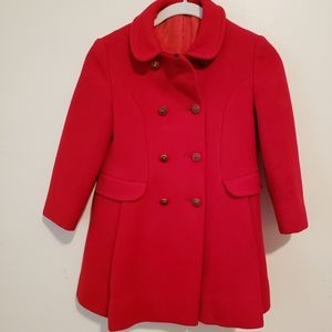 Cameron Red Girls Coat size 8
